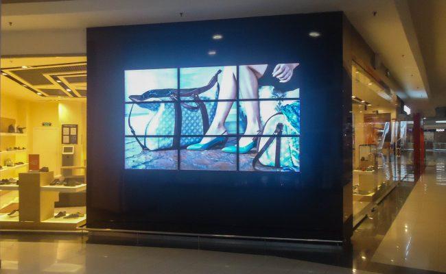 Проекционная витрина